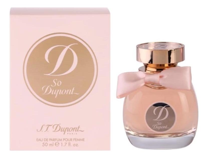 S.T. Dupont So Dupont Femme: парфюмерная вода 50мл портфели s t dupont st181281