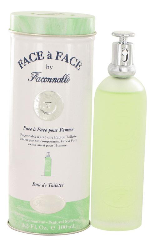 Face a Face pour Femme: туалетная вода 100мл недорого