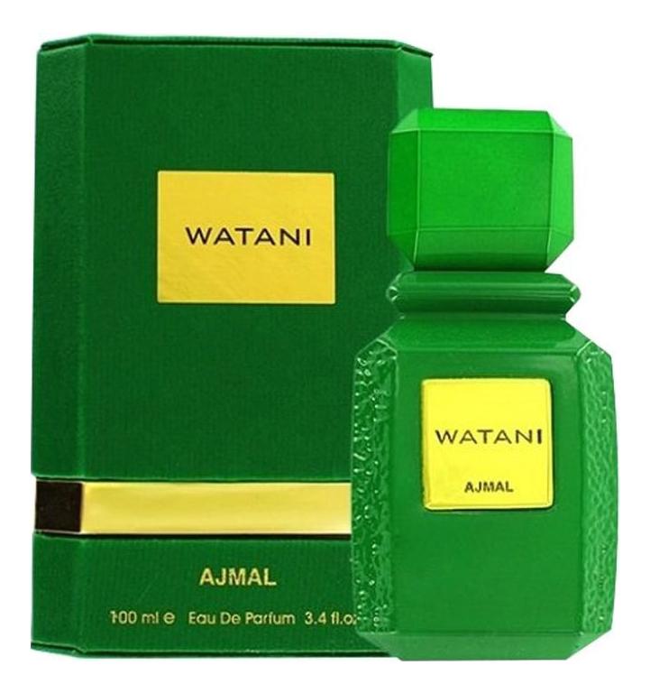 Ajmal Watani Akhdar: парфюмерная вода 100мл ajmal watani ahmar парфюмерная вода 2мл