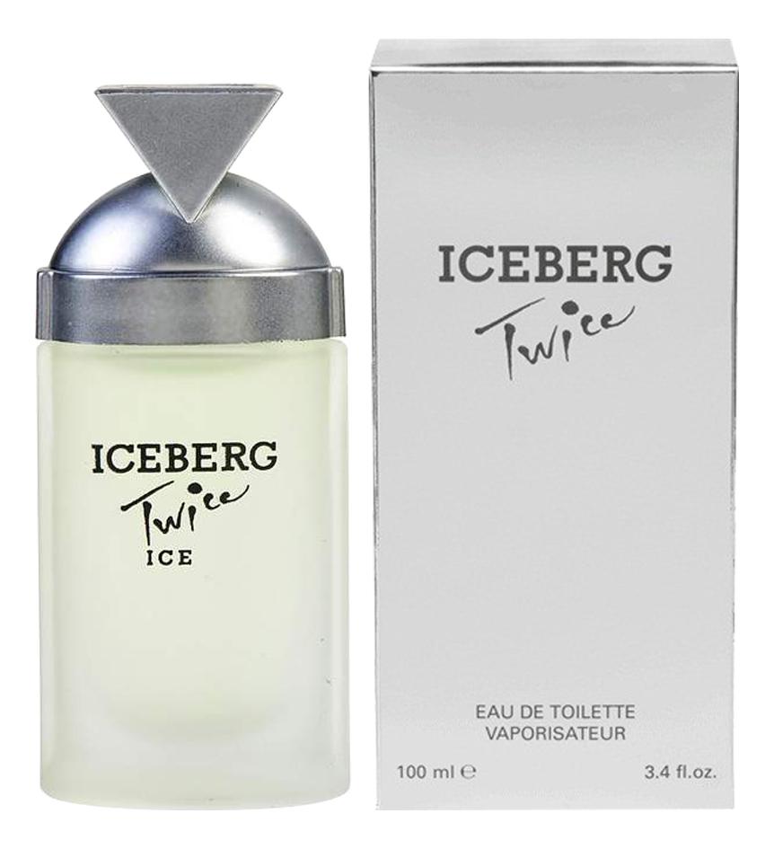 Iceberg Twice Ice: туалетная вода 100мл ремень ice iceberg
