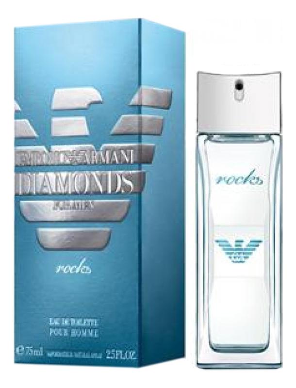 Купить Emporio Diamonds Men Rocks: туалетная вода 75мл, Giorgio Armani
