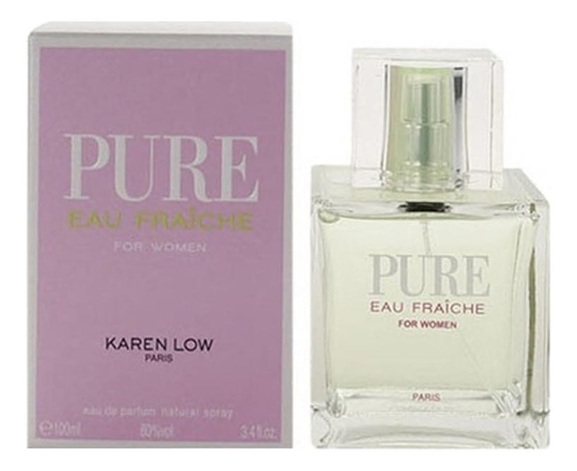 Karen Low Pure Eau Fraiche: парфюмерная вода 100мл geparlys парфюмерная вода pure eau fraiche women линии karen low 100 мл