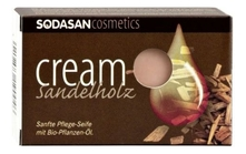 Sodasan Мыло Cream Sandelnolz 100г