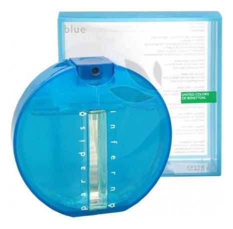 Купить Inferno Paradiso Blue for Men: туалетная вода 100мл, Benetton