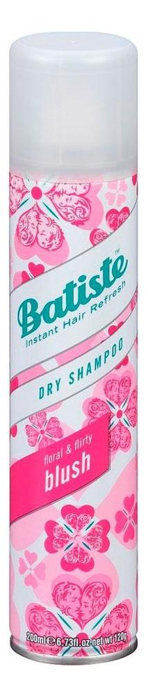 Купить Сухой шампунь с цветочным ароматом Dry Shampoo Floral & Flirty Blush: Шампунь 200мл, Сухой шампунь с цветочным ароматом Dry Shampoo Floral & Flirty Blush, Batiste
