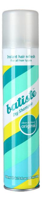 Сухой шампунь (классический) Dry Shampoo Clean & Classic Original 200мл: Шампунь 200мл