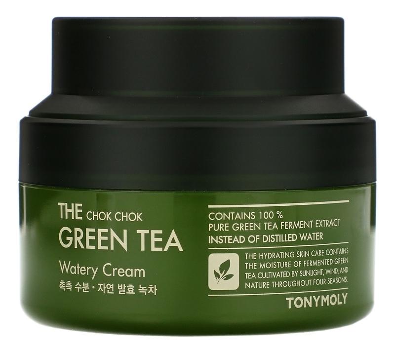 Крем для лица The Chok Chok Green Tea Watery Cream: Крем 60мл недорого