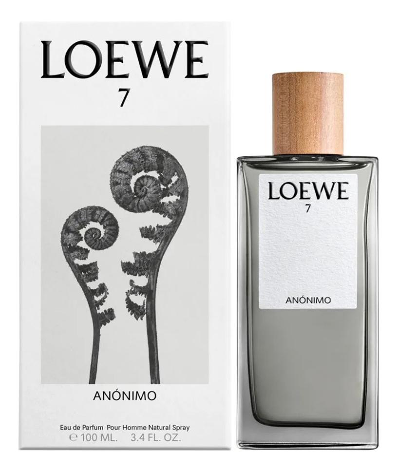 Loewe 7 Anonimo: парфюмерная вода 100мл