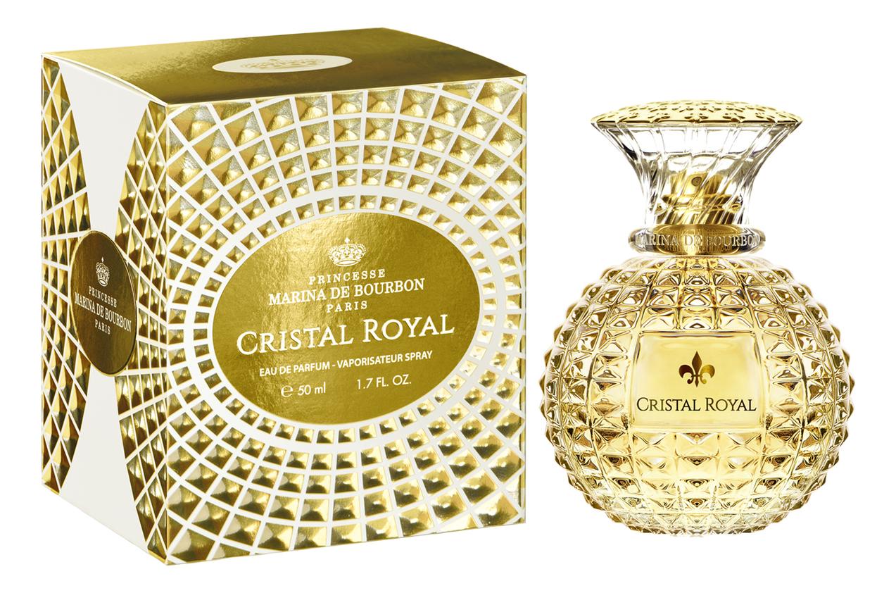 Princesse Marina de Bourbon Cristal Royal: парфюмерная вода 50мл парфюмерная вода princesse marina de bourbon paris royal marina marina diamond 50 мл женская