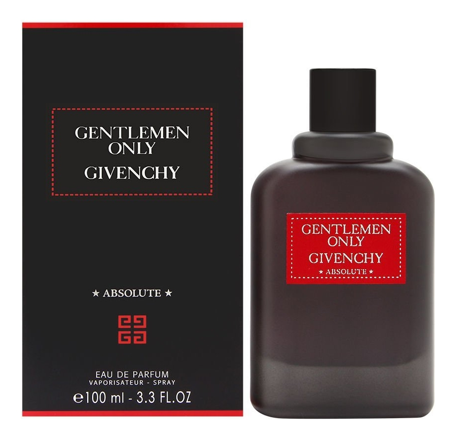 Givenchy Gentlemen Only Absolute: парфюмерная вода 100мл фото