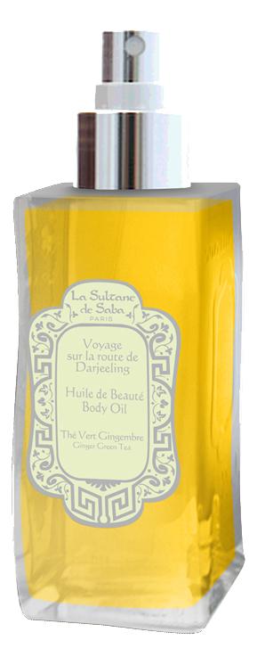 Купить La Sultane de Saba Voyage sur la route de Darjeeling: масло для тела 100мл