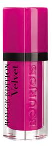 Купить Бархатный флюид для губ Rouge Edition Velvet 7, 7мл: 06 Pink Pong, Bourjois