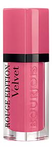 Купить Бархатный флюид для губ Rouge Edition Velvet 7, 7мл: 11 So Hap`Pink, Bourjois