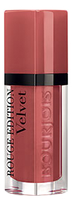 Купить Бархатный флюид для губ Rouge Edition Velvet 7, 7мл: 12 Beau Brun, Bourjois