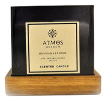 Atmos Moscow Ароматическая свеча Russian Leather 820г