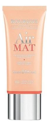 Крем тональный для лица Air Mat Found De Teint 30мл: 01 Ivoire Rose тональный крем vichy aera teint pure