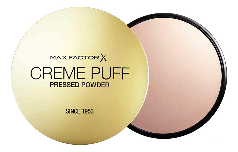Крем-пудра тональная Creme Puff Powder 21г: 50 Natural крем пудра тональная max factor creme puff powder 41 тон medium beige