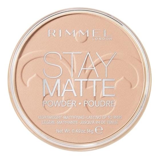 Спрессованная пудра Stay Matte Re-pack 14г: 003 Peach Glow