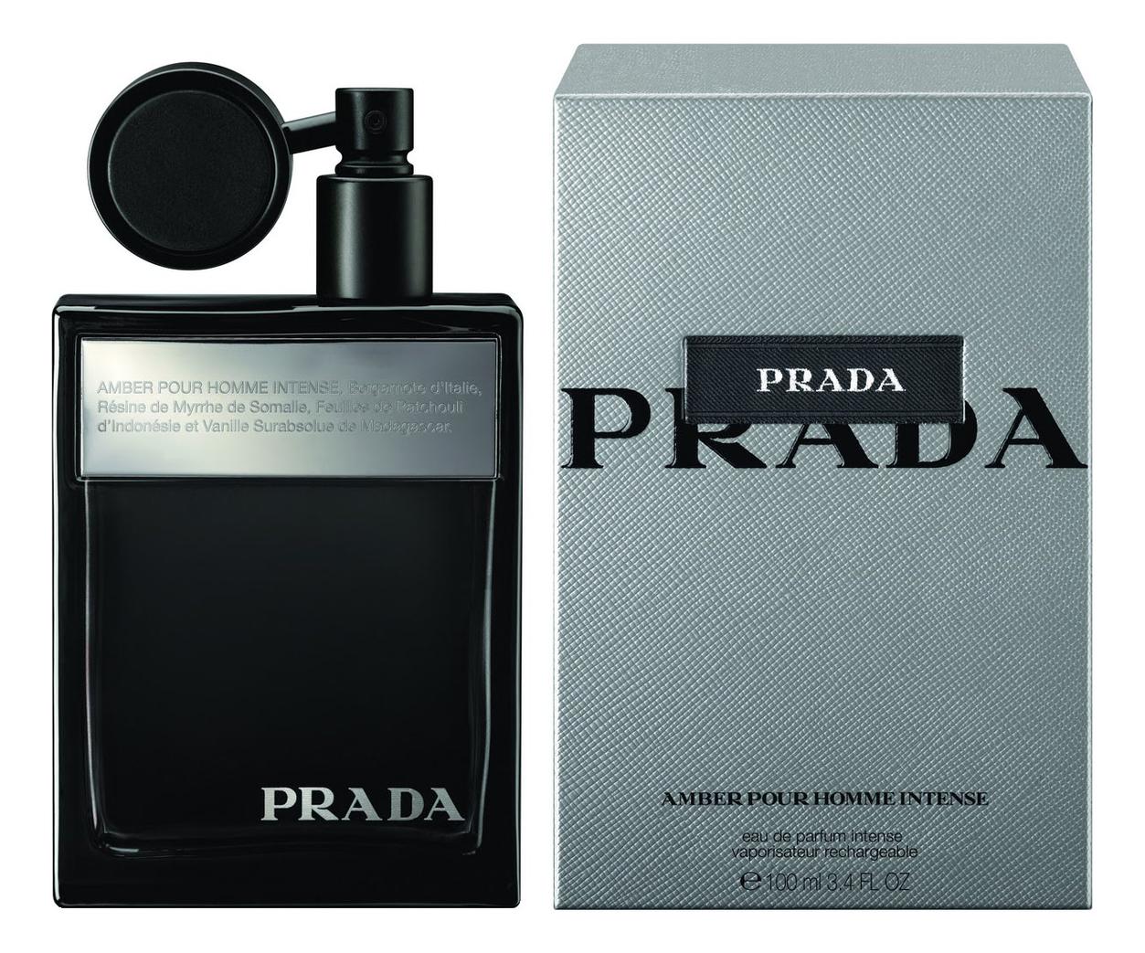 Prada Amber Pour Homme Intense: парфюмерная вода 100мл