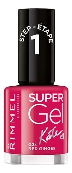 Гель-лак для ногтей Super Gel Nail Polish 12мл: 024 Red Ginger гель лак для ногтей super gel nail polish 12мл 025 urden purple