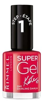 Гель-лак для ногтей Super Gel Nail Polish 12мл: 041 Darling Dahlia гель лак для ногтей super gel nail polish 12мл 032 coctail passion