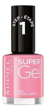 Гель-лак для ногтей Super Gel Nail Polish 12мл: 022 Angel Wing гель лак для ногтей super gel nail polish 12мл 032 coctail passion