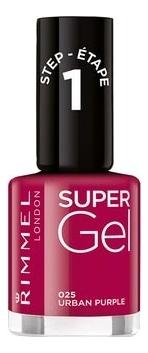 Гель-лак для ногтей Super Gel Nail Polish 12мл: 025 Urden Purple гель лак для ногтей super gel nail polish 12мл 032 coctail passion