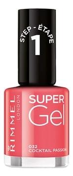 Гель-лак для ногтей Super Gel Nail Polish 12мл: 032 Coctail Passion