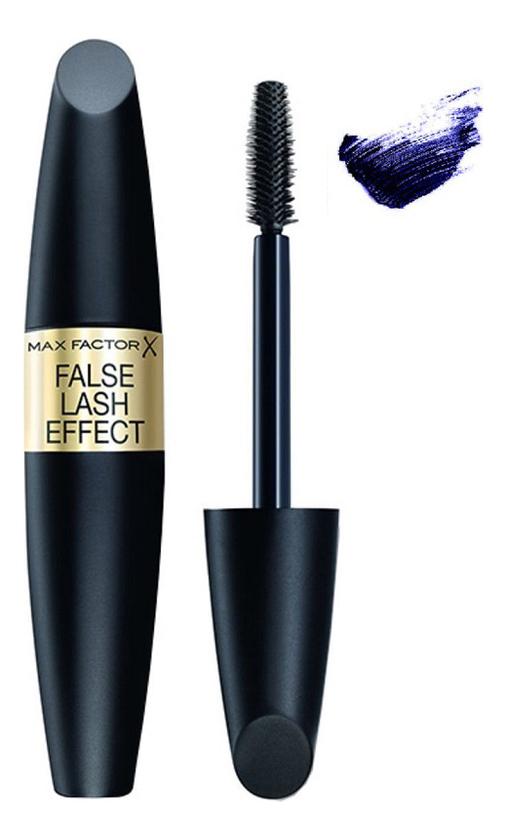 Купить Тушь для ресниц с эффектом накладных ресниц False Lash Effect 13, 1мл: 03 Deep Blue, Max Factor