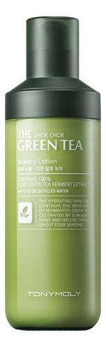 Лосьон для лица с экстрактом зеленого чая The Chok Chok Green Tea Watery Lotion 160мл недорого