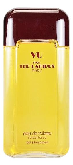 Ted Lapidus Vu par Ted Lapidus: туалетная вода 240мл тестер ted lapidus vu par ted lapidus туалетная вода 240мл тестер