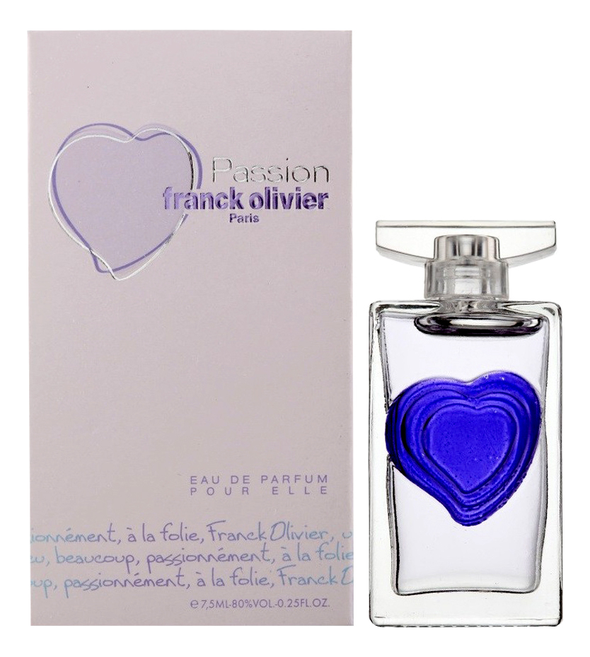 Franck Olivier Passion Women: парфюмерная вода 7,5мл фото