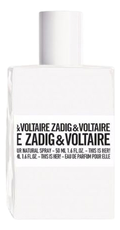 Zadig & Voltaire This Is Her: парфюмерная вода 2мл