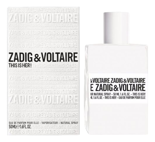Zadig & Voltaire This is Her: парфюмерная вода 50мл