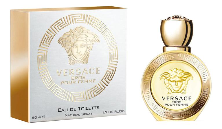 Versace Eros Pour Femme Eau de Toilette: туалетная вода 50мл туалетная вода versace eros 100 мл мужская