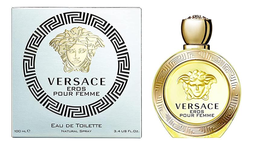 Versace Eros Pour Femme Eau de Toilette: туалетная вода 100мл туалетная вода versace eros 100 мл мужская