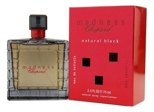 Madness Natural Black: туалетная вода 75мл