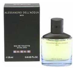 цены Alessandro Dell` Acqua Man: туалетная вода 25мл