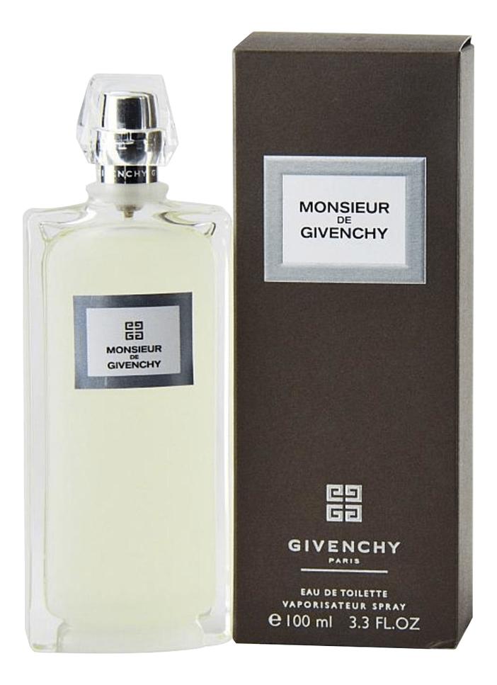 Фото - Monsieur de Givenchy: туалетная вода 100мл givenchy pi extreme туалетная вода 100мл тестер