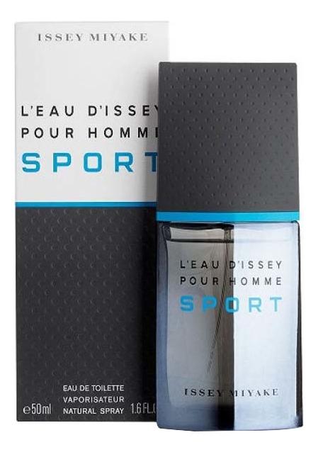 Фото - Issey Miyake L'Eau D'Issey Pour Homme Sport: туалетная вода 50мл issey miyake l eau d issey intense pour homme туалетная вода 75мл