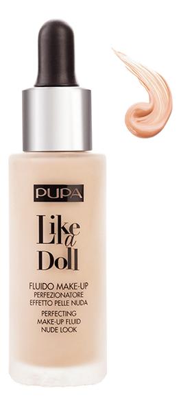 Тональный крем Like A Doll Make-Up Fluid Nude Look 30мл: 30 Естественный бежевый