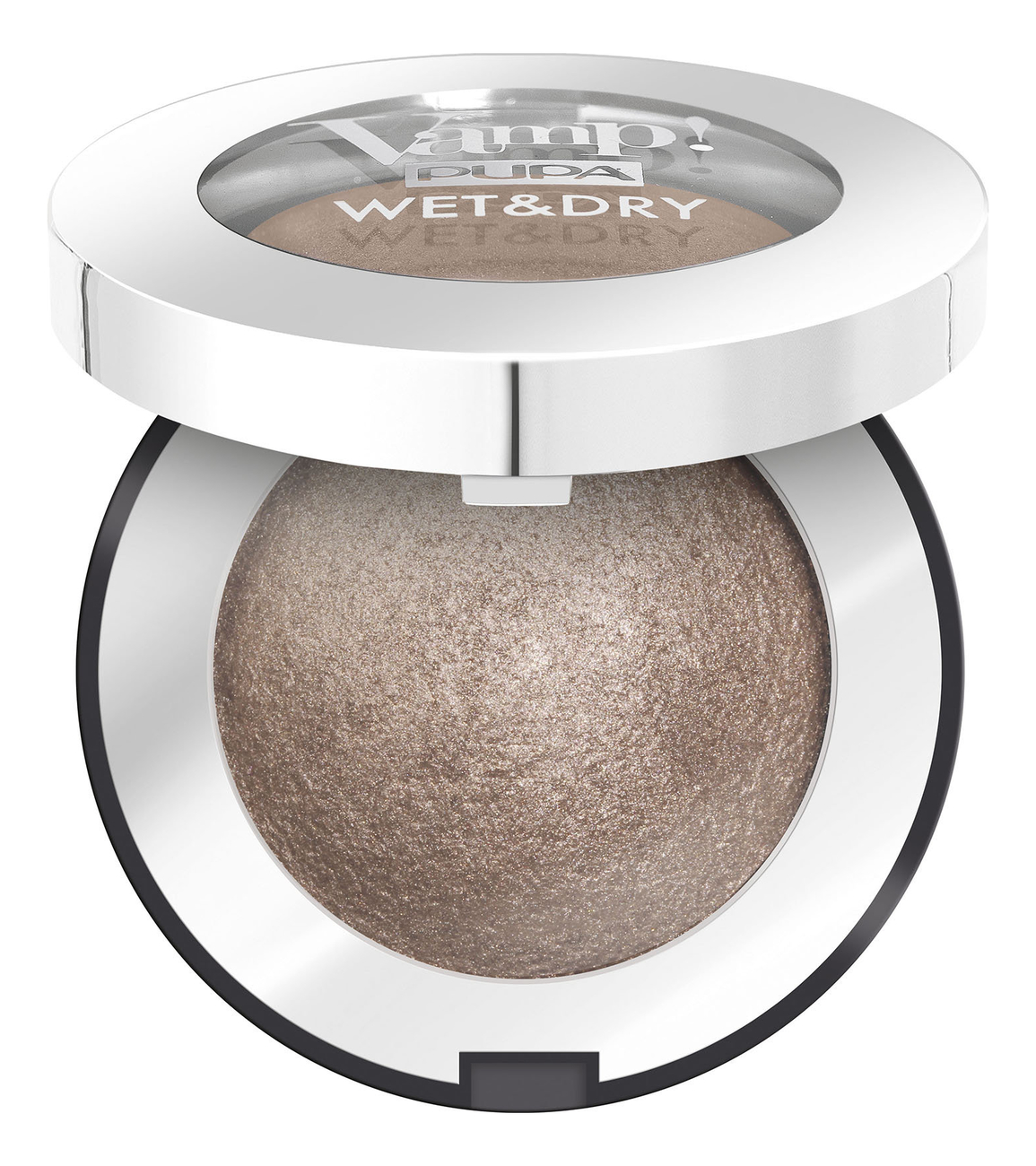 Запеченные тени для век Vamp! Wet & Dry Eyeshadow 1г: 102 Golden Taupe pupa retro illusion eyeshadow