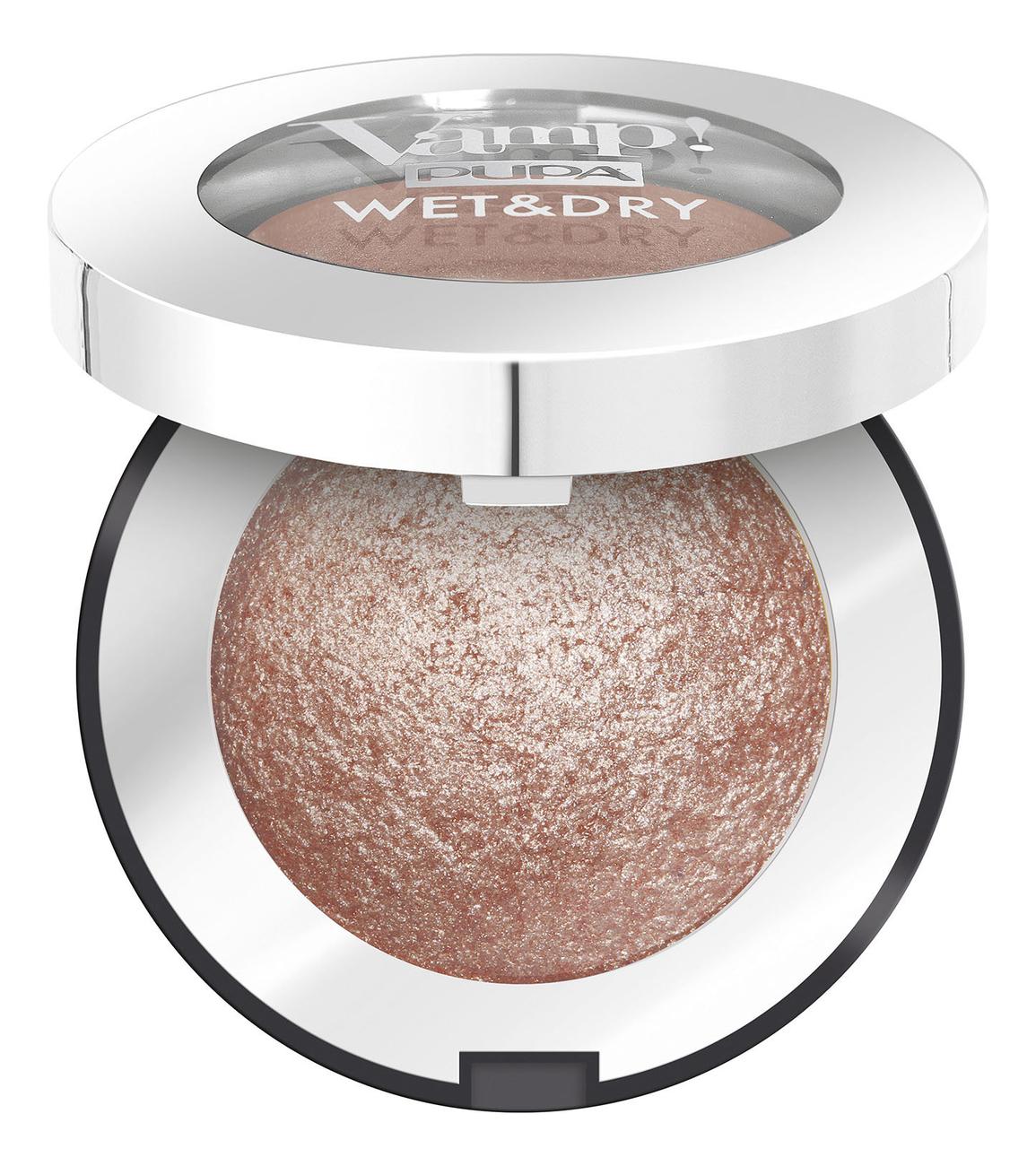 Запеченные тени для век Vamp! Wet & Dry Eyeshadow 1г: 103 Rose Gold