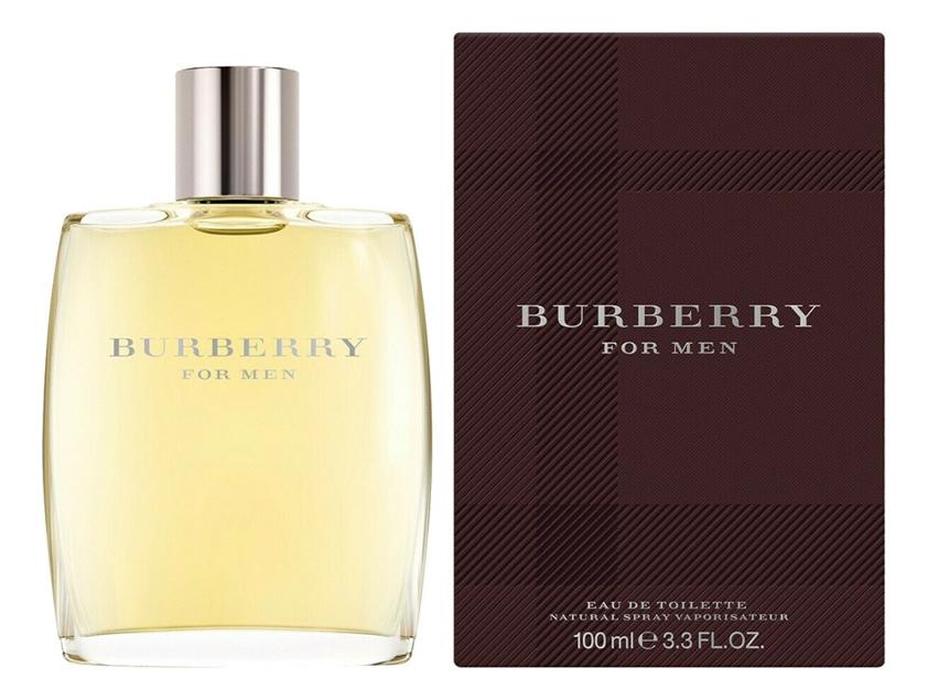 Burberry Men: туалетная вода 100мл