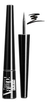 Подводка для глаз с фетровым аппликатором Vamp Definition Liner 2,5мл: 100 Черная pupa подводка для глаз vamp definition liner оттенок 100 extrablack