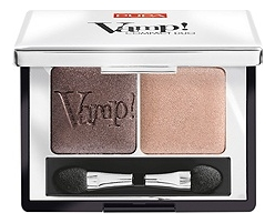 Компактные двойные тени Vamp! Compact Duo 2,2г: 004 Bronze Amber pupa тени для век vamp compact duo 007 dark night