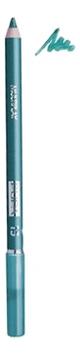 Карандаш для век с аппликатором Multiplay Eye Pencil 1,2г: 15 Blue Green карандаш для век с аппликатором multiplay eye pencil 1 2г 14 water green