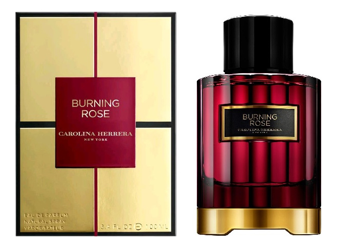 Carolina Herrera Burning Rose : парфюмерная вода 100мл