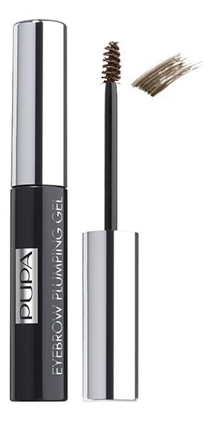 Купить Пигментированный гель для бровей Eyebrow Plumping Gel 4мл: 002 Коричневый, PUPA Milano