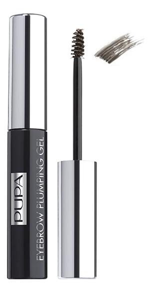 Пигментированный гель для бровей Eyebrow Plumping Gel 4мл: 003 Темно-коричневый фото